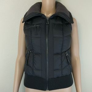 [Juicy Couture] Black Puffer Vest XS